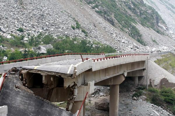 桥梁支座破坏_对震害后桥梁加固方法的探究