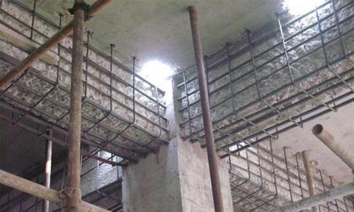 构件加大截面加固的补筋,上部结构扩跨,顶升对梁,柱的接长,房屋加层接
