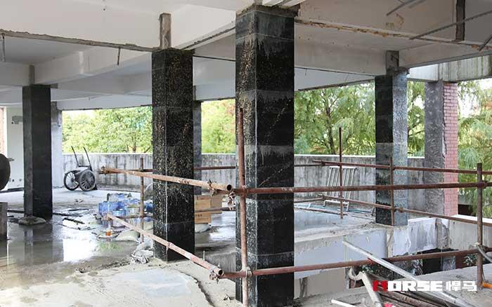 碳纤维布加固钢筋商品混凝土抗震柱