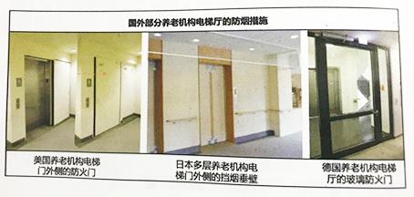 电梯厅防烟