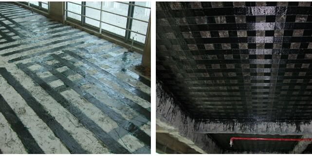 碳纤维布加固施工工艺流程