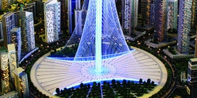 迪拜又要建高塔 盖过哈利法塔