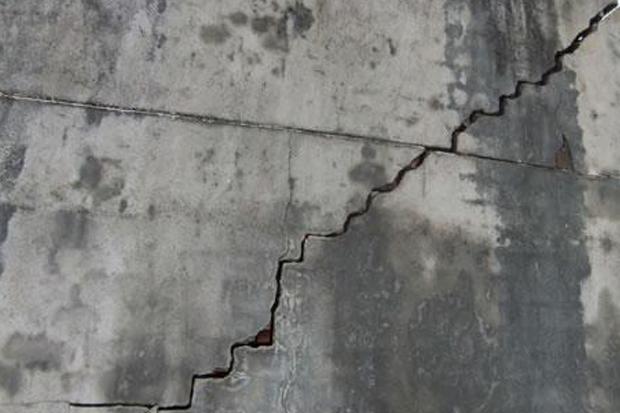 那些对建筑结构的危害的裂缝们