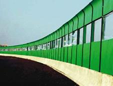 高架道路隔音板安装